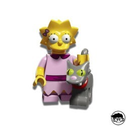 Lego 71009 Minifigures The Simpsons Series 2 Lisa with Snowball