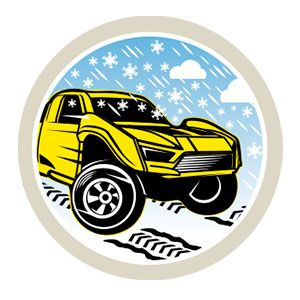 Hot Wheels Snow Stormers