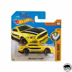 Hot Wheels Ford Shelby GT 350R Muscle Mania 311 365 2017 short card