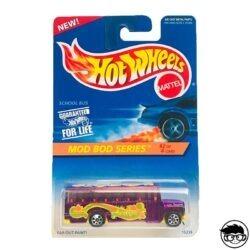 Hot Wheels School Bus Mod Bod Series