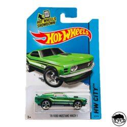 Hot Wheels '70 Ford Mustang Mach 1 HW City