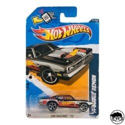 Hot Wheels '71 Dodge Demon HW Racing '12 177 247 2012 long card