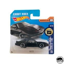 Hot Wheels Knight Rider K.I.T.T. HW Screen Time 3/365 2017 short card