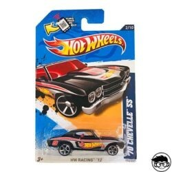 Hot Wheels '70 Chevelle SS HW Racing '12 172 247 2012 long card