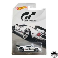Hot Wheels Ford GT Gran Turismo 7 8 2018 long card