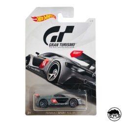 Hot Wheels Renault Sport R.S. 01 Gran Turismo 2 8 2018 long card