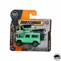 Matchbox Land Rover 90 MBX Off Road 118 125 2018 short card