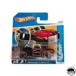 Hot Wheels '53 Chevy Treasure Hunts 12 58 247 2018 short card