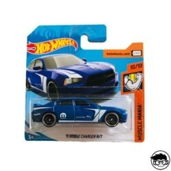 Hot Wheels '11 Dodge Charger R T Muscle Mania 158 250 2019 short card