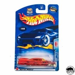 Hot Wheels '59 Cadillac Pride Rides Nº 140 2003 long card