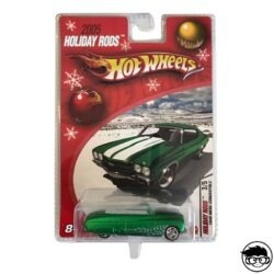 Hot Wheels Ford '49 Merc Convertible Holiday Rods 3 5 2006 long card