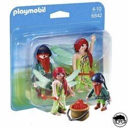 Playmobil 6842 - Elf and Dwarf Duo Pack 2016 box man