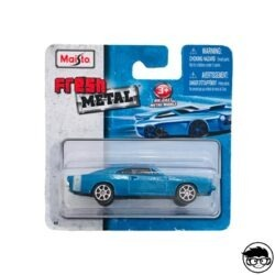 Maisto '69 Dodge Charger R T Fresh Metal #2 2011 long card