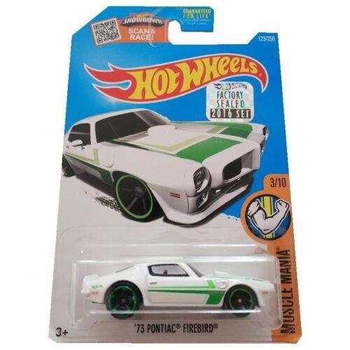 Hot Wheels '73 Pontiac Firebird Muscle Mania 123/250 2016 short card*