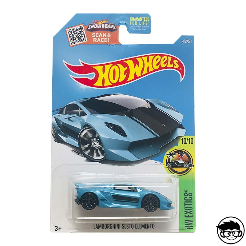 ᐅ Hot Wheels Lamborghini Sesto Elemento Hw Exotics 80 250 2015