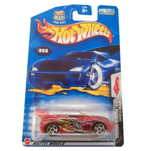Hot Wheels Toyota Celica Collector 068 2003 long card