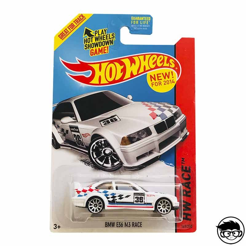 Hot Wheels Bmw E36 Race Blaco