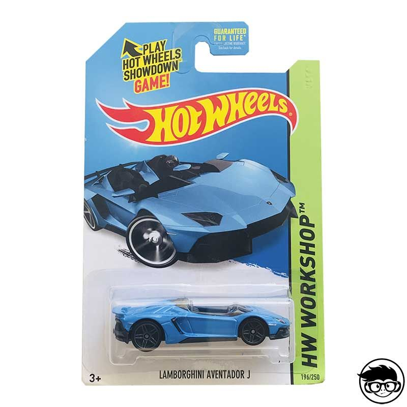 ᐅ Hot Wheels Lamborghini Aventator J Hw Workshop 196 250 2014