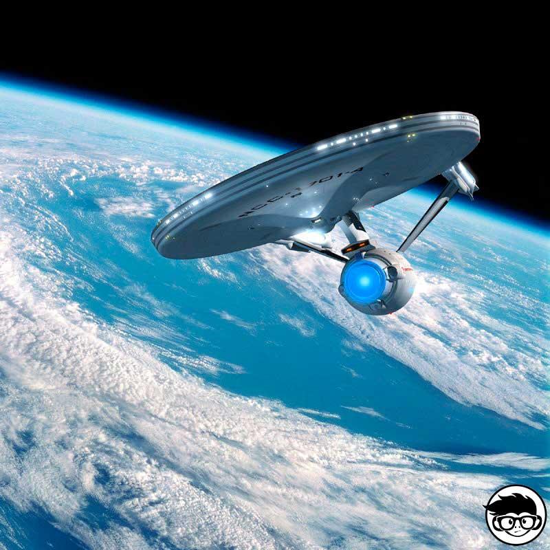 Enterprise NCC-1701 HW City 2015 Short Card 43//250 Hot Wheels U.S.S