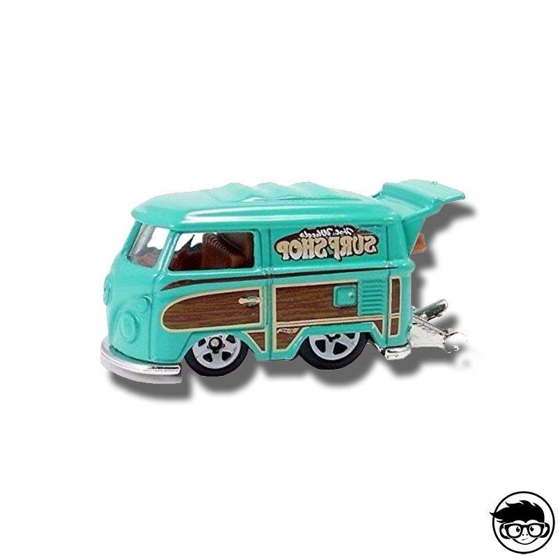 2015 Hot Wheels City Kool Kombi Teal 73