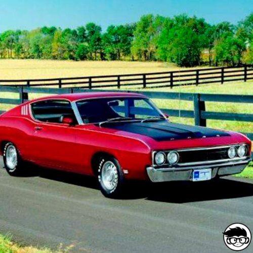Hot Wheels '69 Ford Torino Talladega real