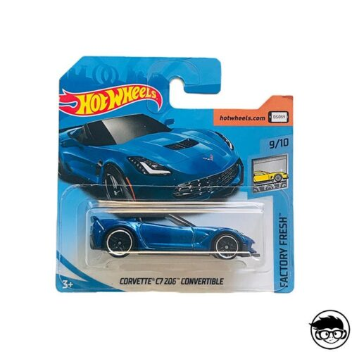 Hot Wheels Corvette C7 Z06 Convertible