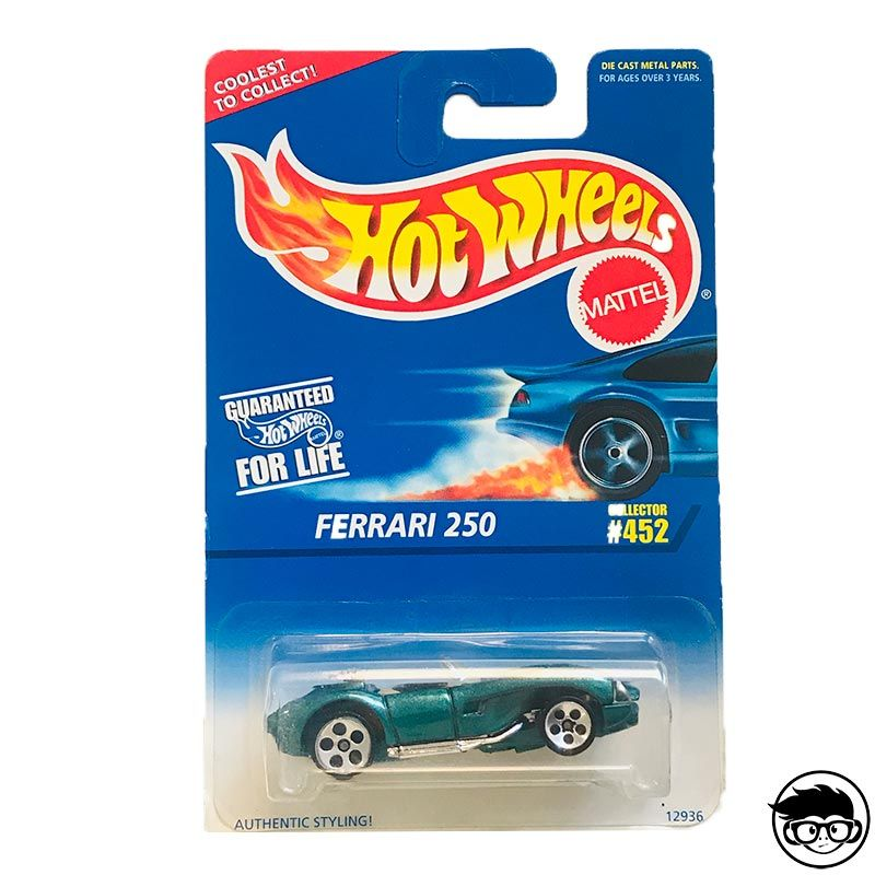 ᐅ hot wheels ferrari 250 »【 collector 452 1996 】long card
