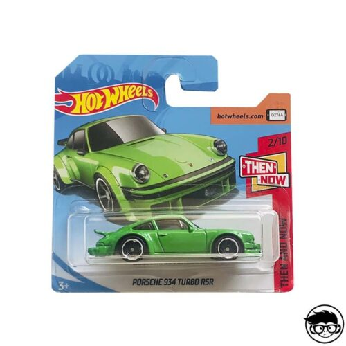 Hot Wheels Porsche 934 Turbo RSR Then and Now 338:365 2018 short card