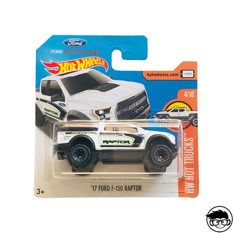 White Hot Wheels 2017 HW Hot Trucks 17 Ford F-150 Raptor 129//365