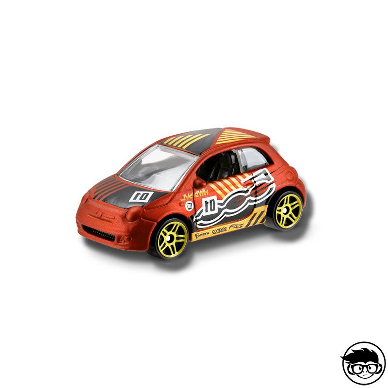 Details about  /Brand New 2017 Hot Wheels FIAT 500 ~ 04 HW DAREDEVILS ~ 50th Anniversary MINT
