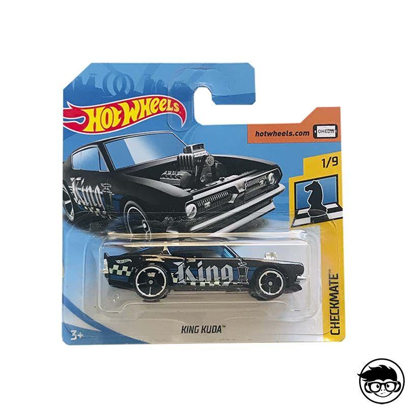Hot Wheels Checkmate King Kuda Plymouth Barracuda Long Card