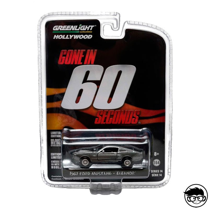 Greenlight Hollywood Gone In 60 Seconds 1967 Ford Mustang Eleanor Series 14  2016