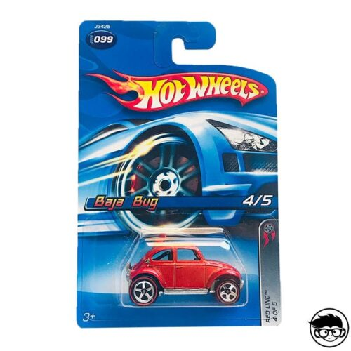 Hot Wheels Baja Bug Red Line