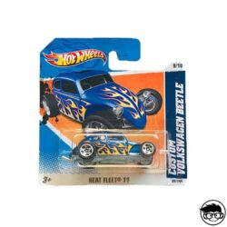 Hot Wheels Custom Volkswagen Beetle Heat Fleet