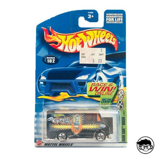 Hot Wheels Grave Rave Wagon
