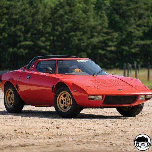 Hot Wheels Lancia Stratos real