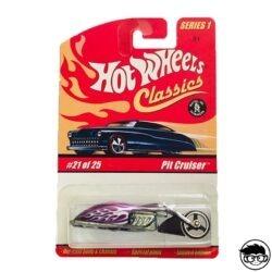 Hot Wheels Pit Cruiser Classics