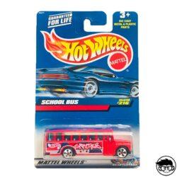 Hot Wheels School Bus