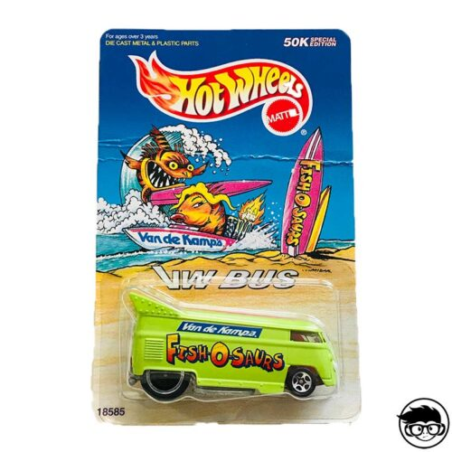 Hot Wheels VW Bus 50K Special Edition