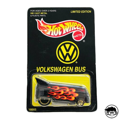 Hot Wheels Volkswagen Bus Limited Edition