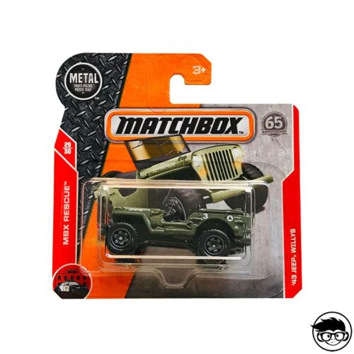 MATCHBOX-43-JEEP-WILLYS-MBX-RESCUE-65-ANNIVERSARY-SHORT-CARD