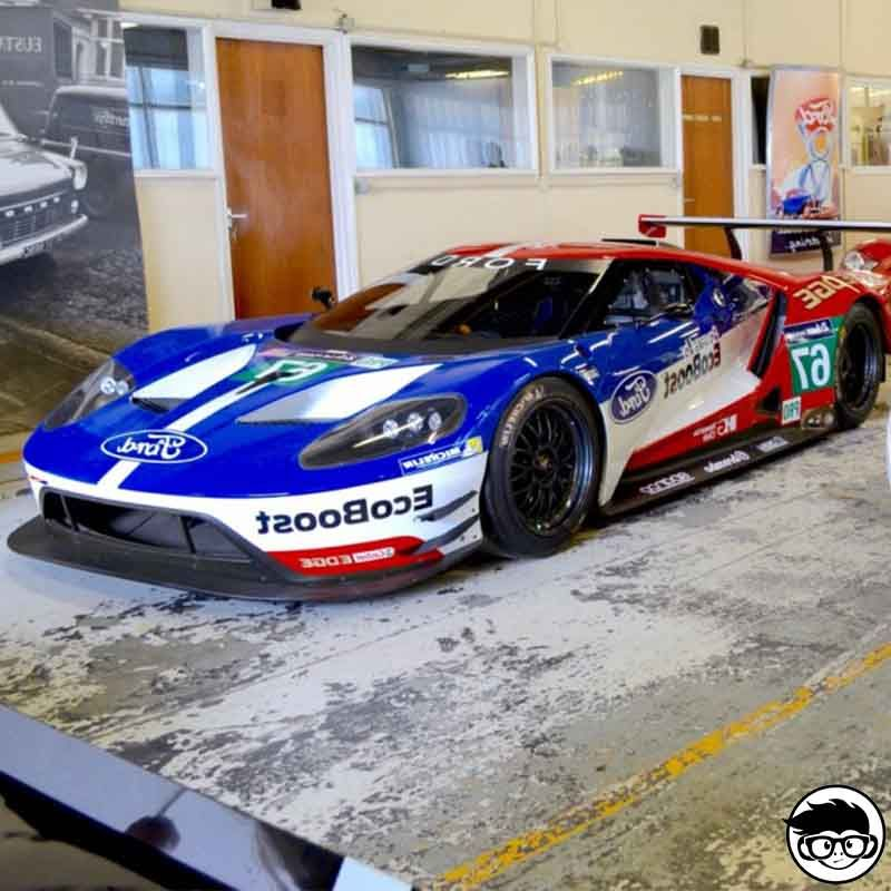 Hot Wheels  Ford Gt Race Real