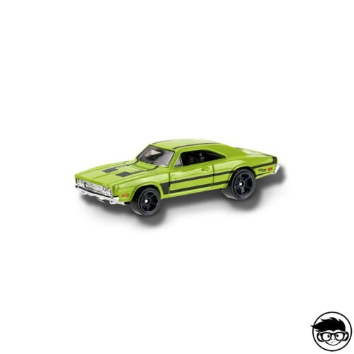 hot-wheels-69-dodge-charger-daytona-green-loose