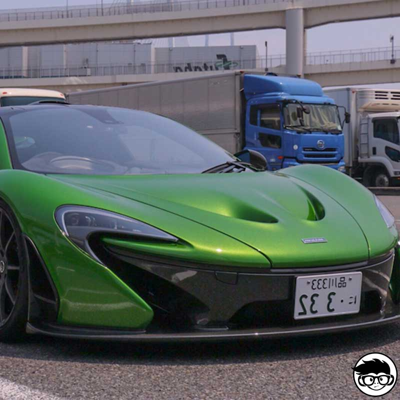 Hot Wheels Mclaren P1 Exotics Real
