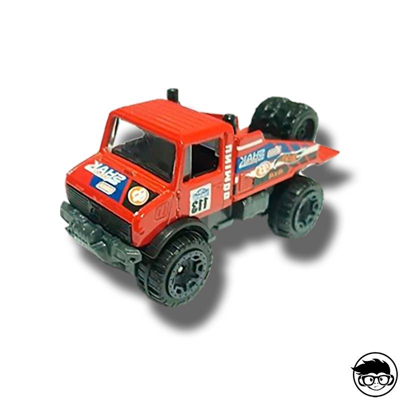 Hot Wheels Mercedes Benz Unimog 1300 HW Hot Trucks 4//10 1:64 7//250 2019 Mattel