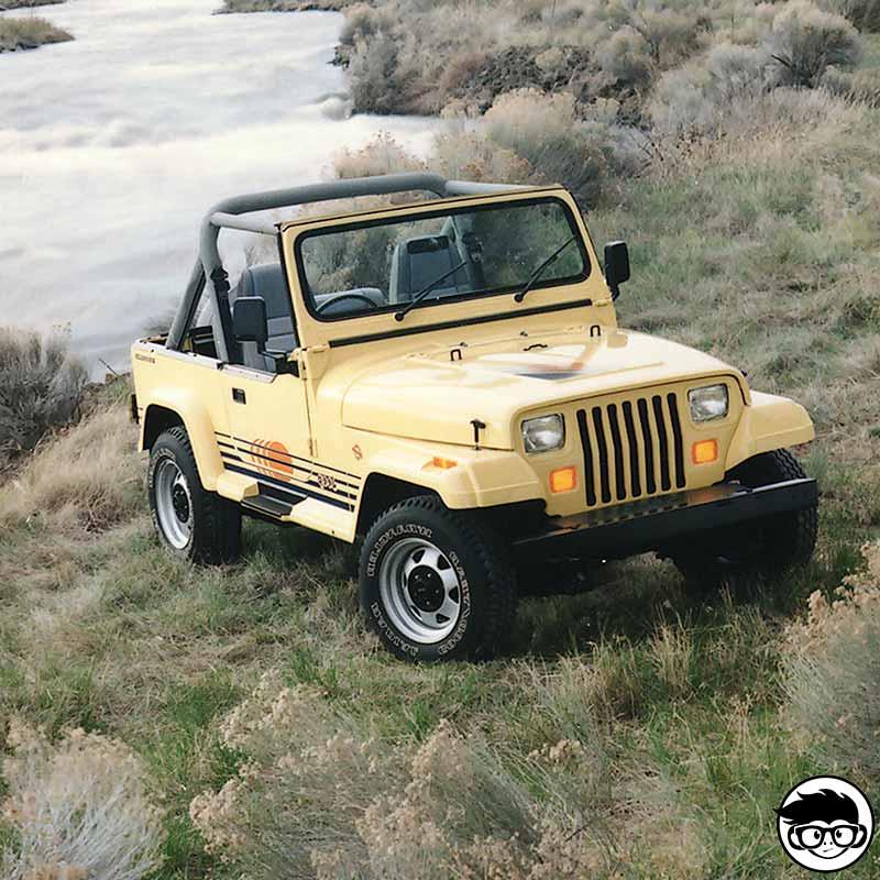 Greenlight 1991 Jeep Wrangler YJ Real