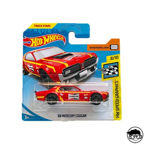 Hot Wheels '68 Mercury Cougar