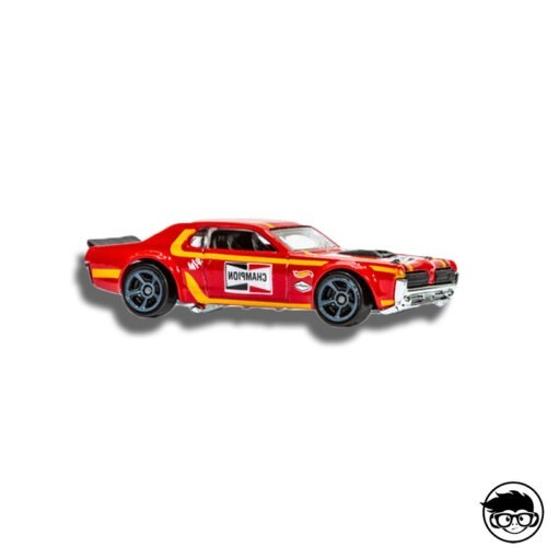 Hot Wheels '68 Mercury Cougar loose
