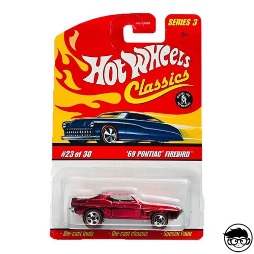 Hot Wheels '69 Pontiac Firebird