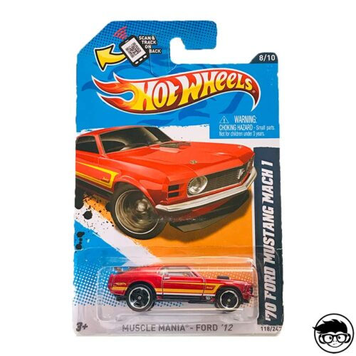 Hot Wheels '70 Ford Mustang Mach 1